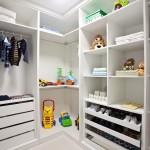 Diversas opções de divisões internas para closet, armarios e guarda roupa