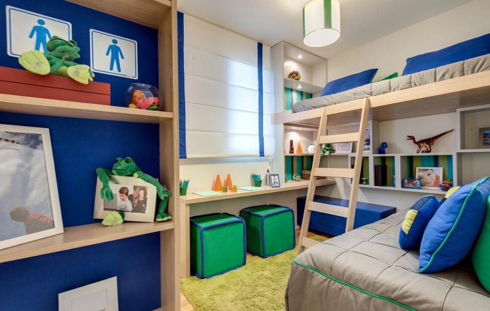 Dormitório Life Moveis Planejados ~ Quarto Planejado Infantil Com Beliche