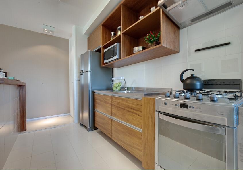 Cozinha fabricada para apartamento de 60m 178 com gavet 245 es gavetas