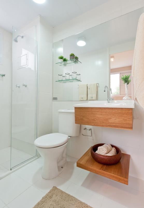 Banheiros life moveis planejados for Gabinete para lavabo