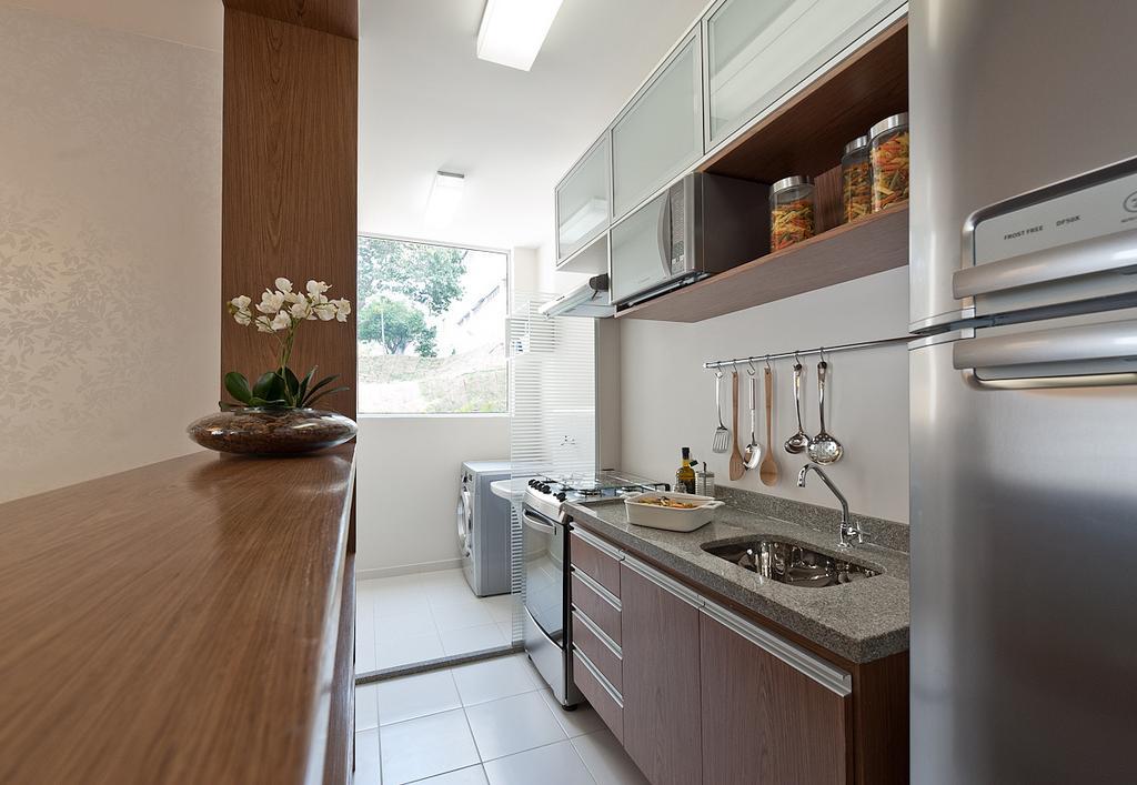 Cozinhas life moveis planejados for Modelos de apartamentos pequenos